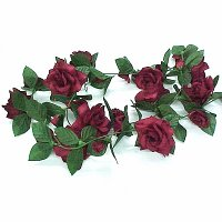 6 French rose garland.