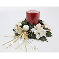 3 HYDRANGEA CANDLE RING